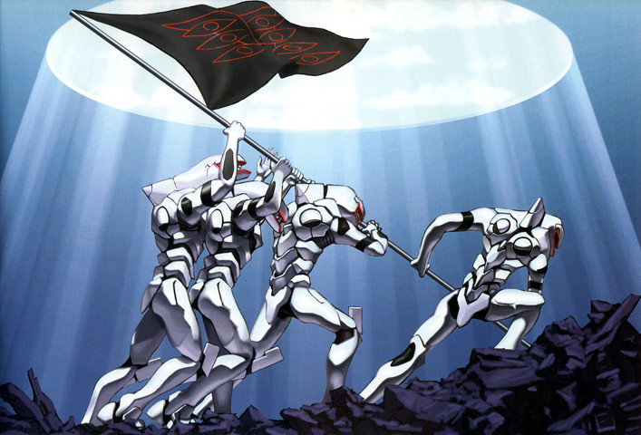 Evangelion: Planting The Flag