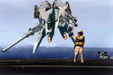 Macross: Photorealistic Fan Edit, Landing On Carrier