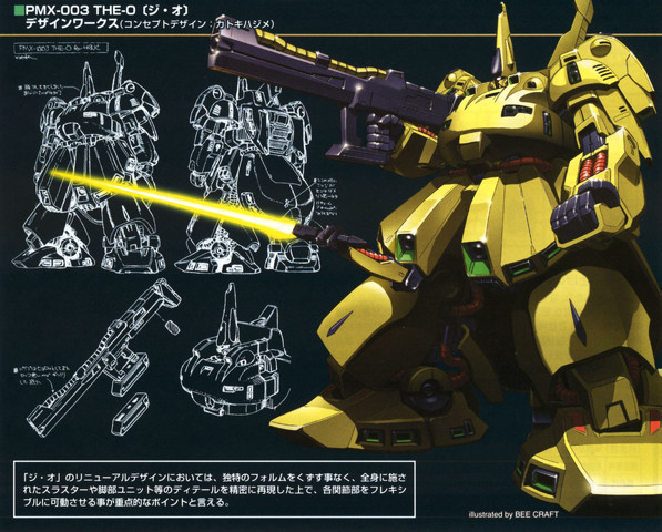 Gundam: Art of the PMX-003 The-O