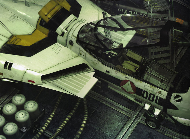 Macross: Art of the VF-1 from Macross