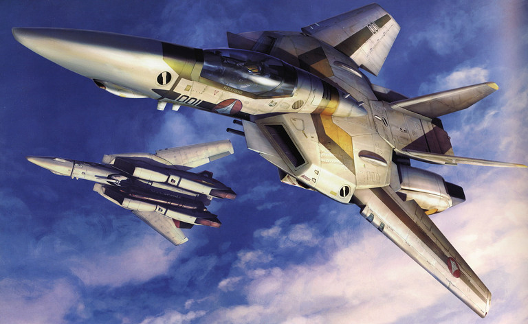 Macross: Roy Focker and Skull Squadron
