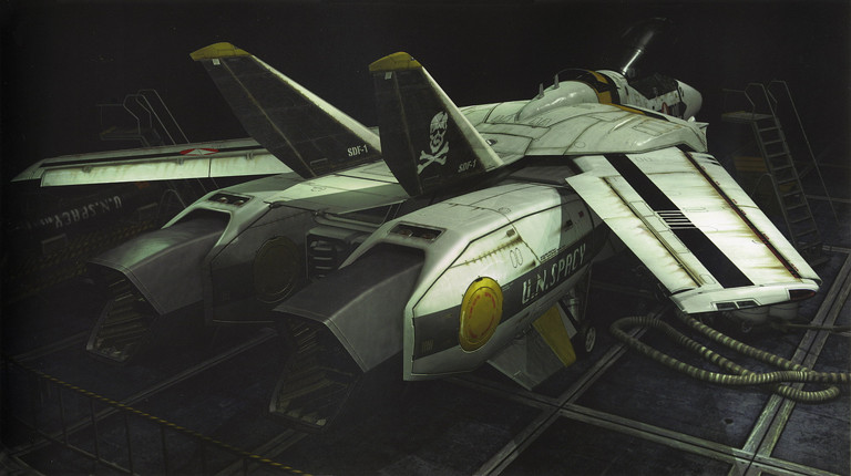Macross: Skull Squadron VF-1