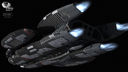 Battlestar Galactica: The Battlestar Galactica bottom to rear
