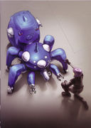Ghost in the Shell: Mokoto and her Tachikoma