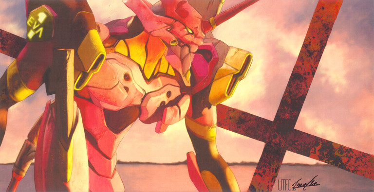 Evangelion: Unit 01, after the battle