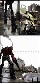 Transformers: Optimus Prime vs Megatron