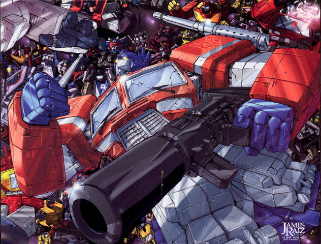 Transformers: Optimus Prime was built for action poses