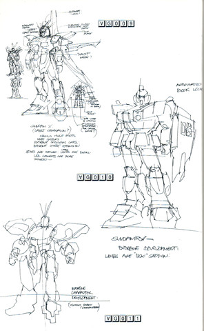 Gundam: Mead&#8217;s Turn A Study 4