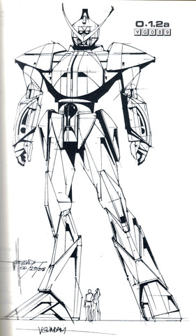 Gundam: Mead's Turn A Study 8