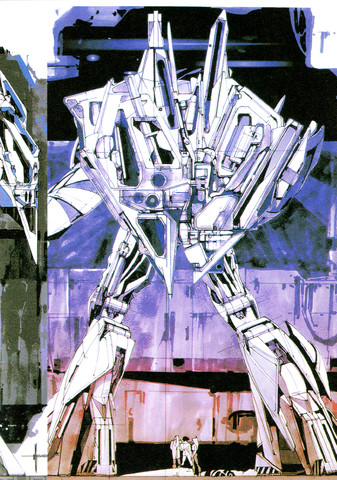 Gundam: Mead's Turn A Study 15
