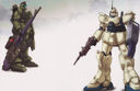 Gundam: GM Sniper and RX-79[G] Ez-8