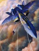 Macross: The YF-21, the most awesome thing ever to come out of Macross