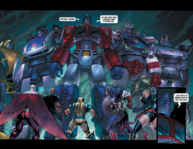 Transformers: Why is it the Transformers always get the wierdest crossovers?