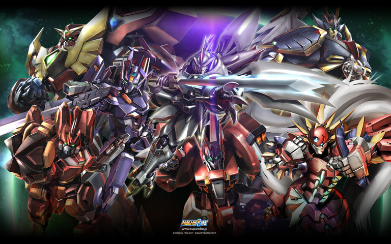 Super Robot Wars: Ryusei powers activate