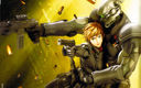 Appleseed: Deunan and Briareos from the 2004 film (Desktop size, fixed)