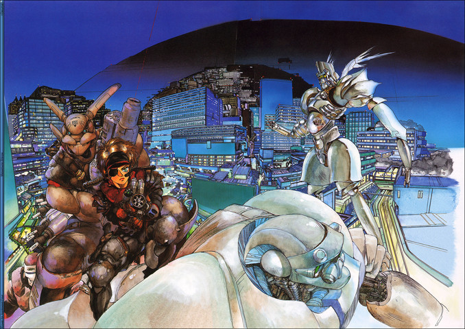 Appleseed: I want whatever Shirow is on
