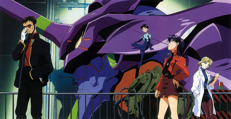Evangelion: Group shot
