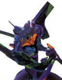 Evangelion: Action shot of Eva-01