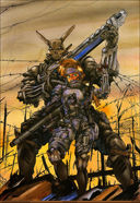 Appleseed: By popular request, more Shirow art