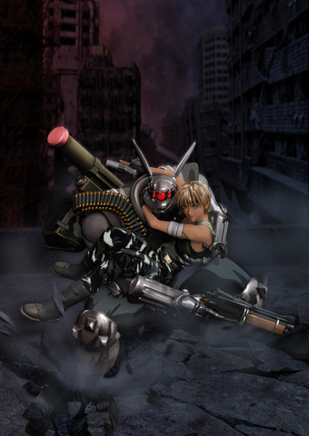 Appleseed: More art from the 2004 film