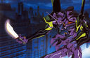Evangelion: Eva-01 and vibro-knife