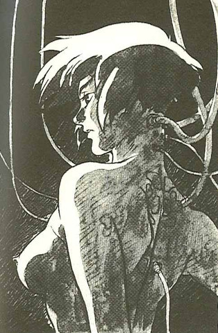Ghost in the Shell: Cybernetically enhanced nipples