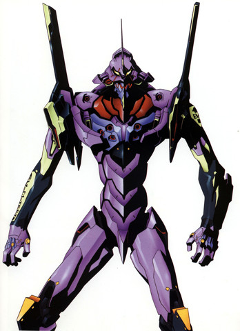 Evangelion: Eva-01 from the front