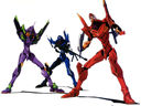 Evangelion: The trio in action