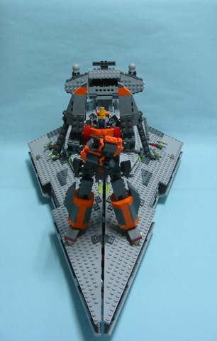 Gunbuster, Lego: The Pose! (now in Lego goodness)