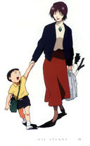 Evangelion: Little Shinji and Mom