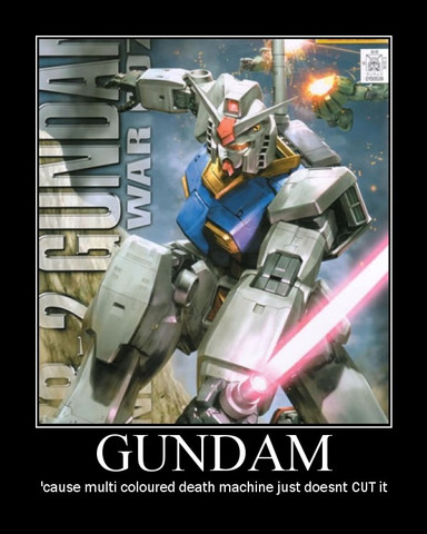Demotivation: Gundam