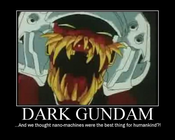 Demotivation: Dark Gundam