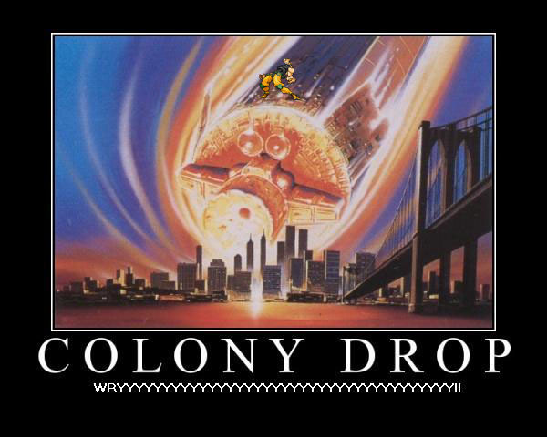 Demotivation: Colony Drop