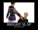 Demotivation: Bright Slap