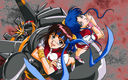 Gunbuster: Noriko and Kazumi