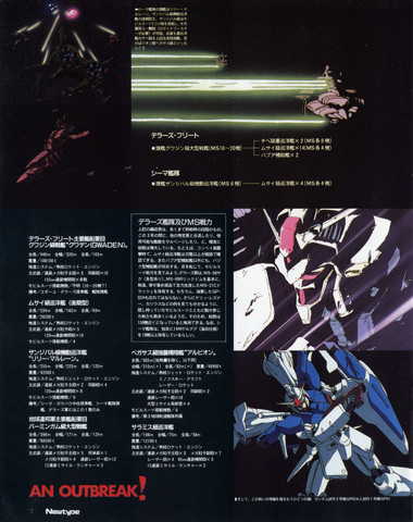 Gundam: Page 4 of the 0083 article