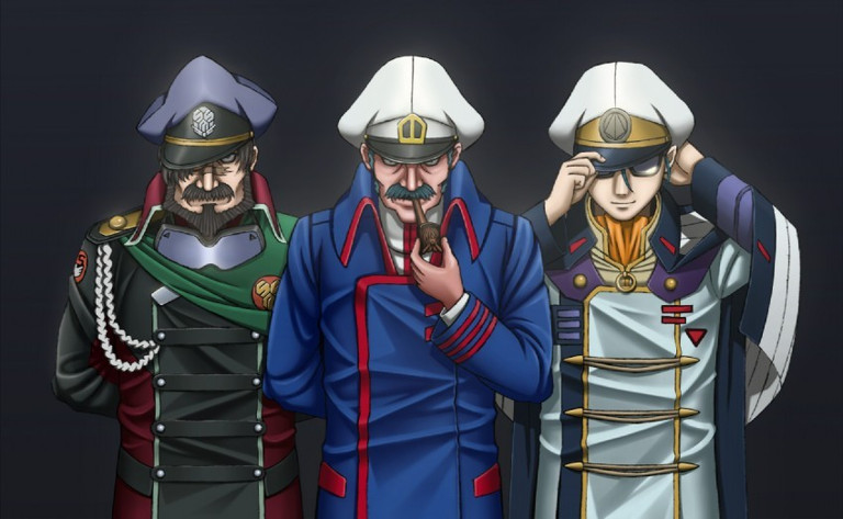 Macross: The three Captains