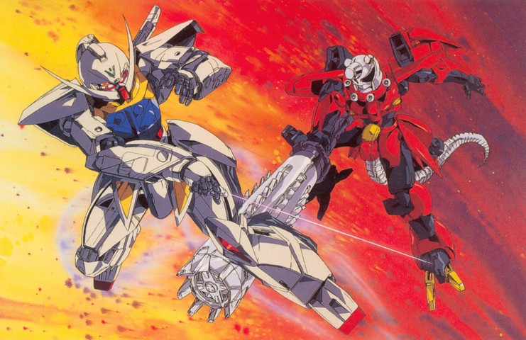 Gundam: Corin Nader is win