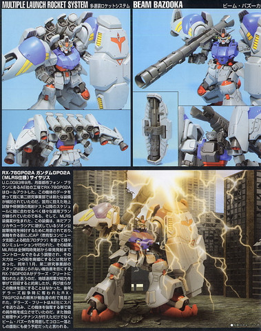 Gundam: GP-02 with MLRS (part 1)