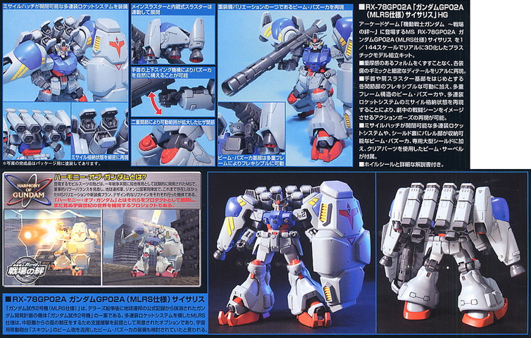 Gundam: GP-02 with MLRS (part 2)