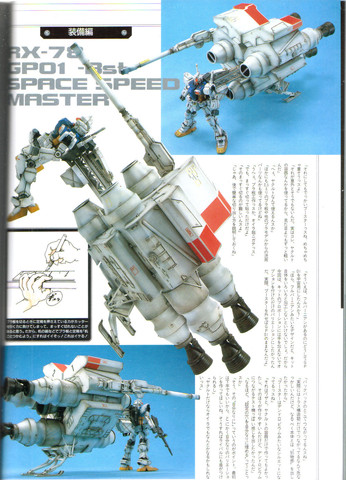 Gundam: GP01 Space Speed Master