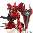 Gundam: Sazabi in Red