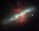 Real Life: Starburst Galaxy M82