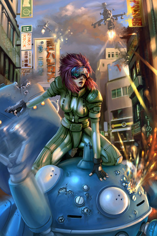Ghost in the Shell: 'Fragile Shell' by Daniel Conway