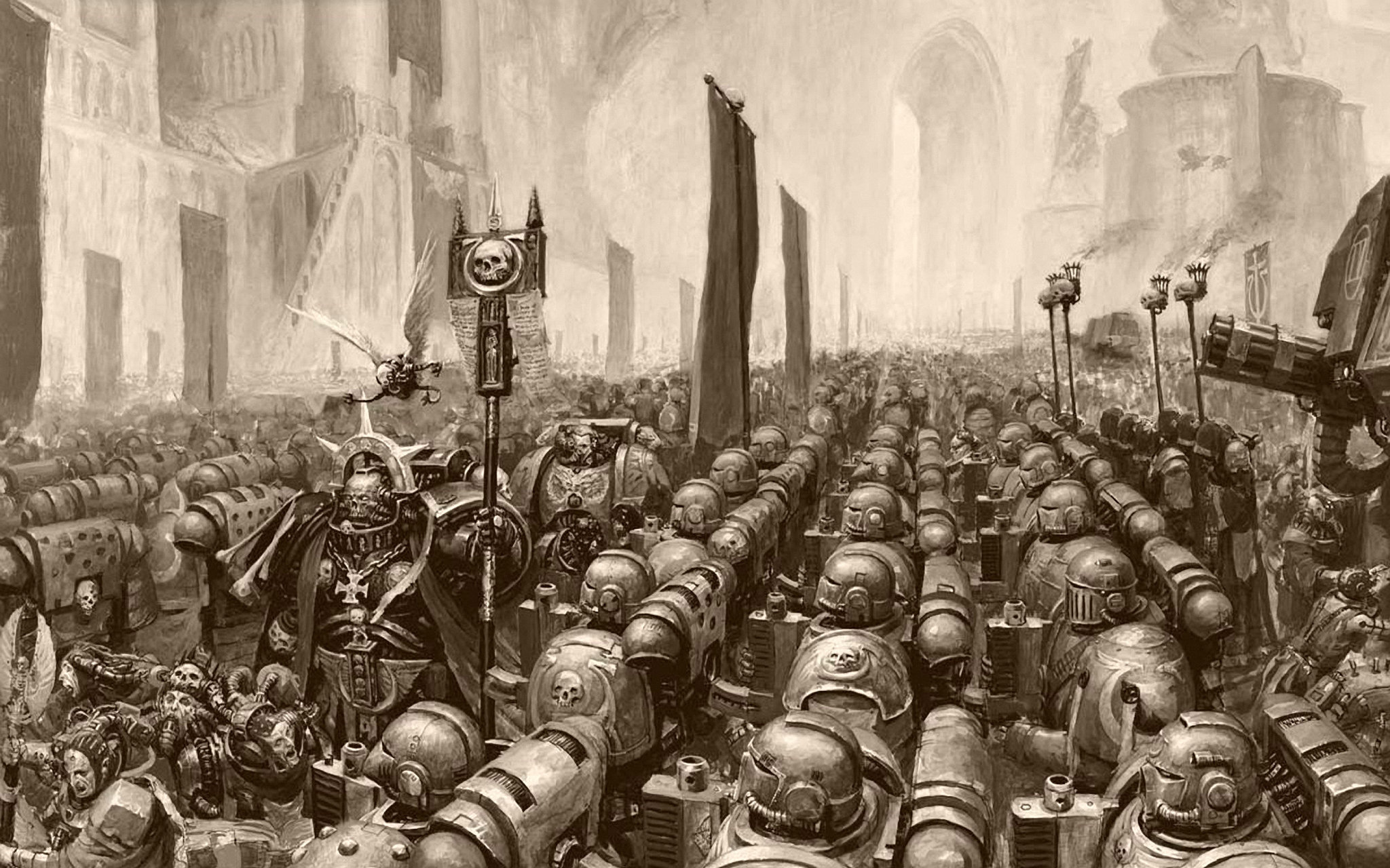 how to build a warhammer 40k army