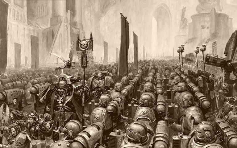 Warhammer 40k: I wonder how many points that army is, but DO WANT