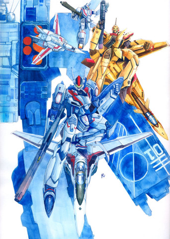 Macross: The YF19/VF19 is always my favorite