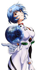 Evangelion: Shes got the whole world in her hands