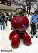 Ghost in the Shell: Real life Tachikoma (Fuchikoma?)