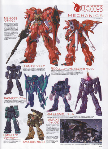 Gundam: Lookin' kinda Hi-Nu there MSN-06S Sinanju